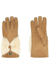 Australia Luxe Collective Shearling Gloves Camel