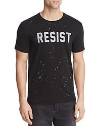 Eleven Paris Resist Crewneck Tee Black