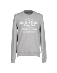 Frankie Morello Sweatshirts Grey