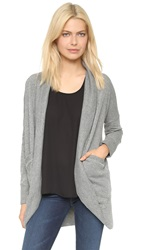 Bb Dakota Myah Cocoon Cardigan Charcoal Grey