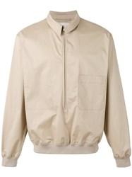 Christophe Lemaire Zip Up Jacket Nude Neutrals