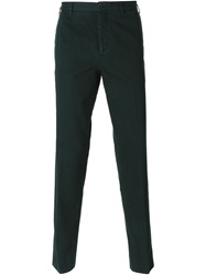 Carven Slim Chino Trousers Green