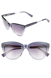 Derek Lam Women's 'Lenox' 53Mm Cat Eye Sunglasses Plum Gradient