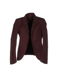 Jil Sander Suits And Jackets Blazers Women Maroon