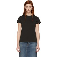 6397 Black Crane Man T Shirt