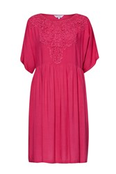 Great Plains Dreamcatcher Lace Tunic Dress Papaya
