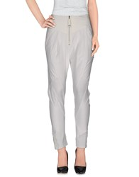 High Trousers Casual Trousers Women White