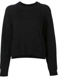 Alexander Wang T By Loose Style Jumper Black