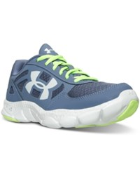 Under Armour Women's Engage Bl Running Sneakers From Finish Line Aurora Purple White Glaci