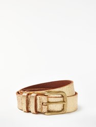 And Or Katherine Tie Leather Jeans Belt Gold