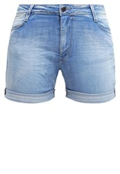 Le Temps Des Cerises Denim Shorts Blue Blue Denim