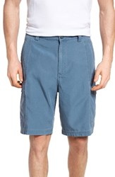 Tommy Bahama Men's Big And Tall 'Key Grip' Relaxed Fit Cargo Shorts Mystic Blue