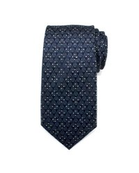 Cufflinks Inc. Star Wars Darth Vader Jacquard Silk Tie Navy