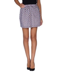 Paul And Joe Sister Mini Skirts Sky Blue