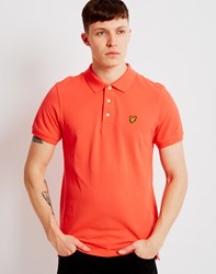 Lyle And Scott Polo Shirt Red