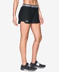 Under Armour Play Up Performance Shorts Black