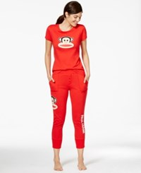 Paul Frank Back To Basics Julius Top And Pajama Pants Red