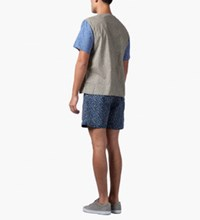 Carven Grey Printed Poplin T Shirt