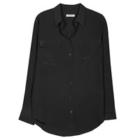 Equipment Signature Blouse True Black