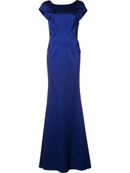 Zac Posen 'Irina' Gown Blue