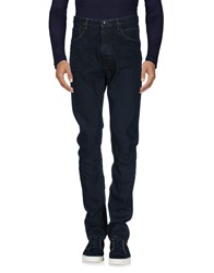 Rick Owens Drkshdw By Denim Denim Trousers Blue