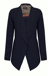 James Lakeland Tailored Dim Hem Blazer Black