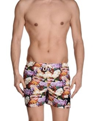 Macchia J Swimming Trunks White