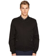 The Kooples Cupro Jacket With Zip And Officer Style Collar Black