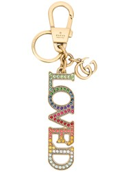 Gucci Loved Keychain Multicolour