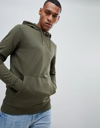Only And Sons Hoodie Forest Night Green