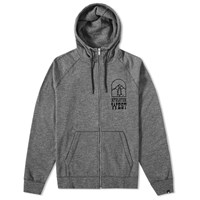 Nike Legacy Graphic Zip Hoody Grey
