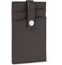 Want Les Essentiels Kennedy Leather Cardholder Brown