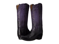 Lucchese Maxine Purple Cowboy Boots