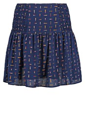 Morgan Jaslia Mini Skirt Marine Dark Blue