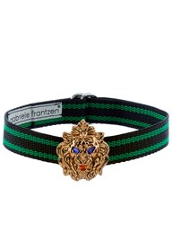 Gabriele Frantzen Black And Green Lion Candy Choker Blue