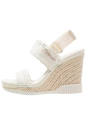 Calvin Klein Jeans Lael High Heeled Sandals Offwhite Off White