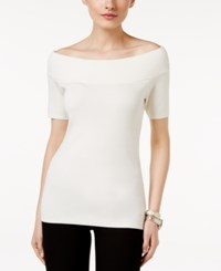 Ny Collection Off The Shoulder Sweater Innocence