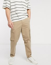 New Look Cargo Trouser In Stone