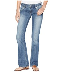 Rock And Roll Cowgirl Low Rise In Medium Vintage W0 6652 Medium Vintage Jeans Blue