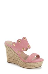 Women's Charles By Charles David 'Fallon' Mule Pink Suede
