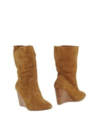 Mellow Yellow Footwear Ankle Boots Women Camel