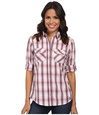 Carhartt Huron Shirt Magenta Women's Short Sleeve Button Up Pink