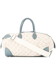 Louis Vuitton Vintage Speedy Gm Tote White