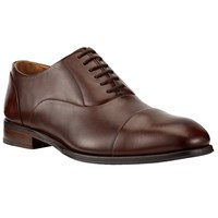John Lewis Goodwin Oxford Leather Lace Up Shoes Conker