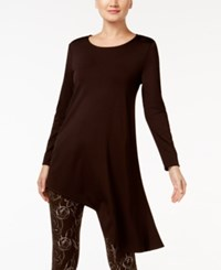 Alfani Prima Asymmetrical Tunic Top Only At Macy's Espresso Roast