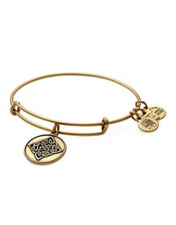 Alex And Ani Celtic Knot Charm Bangle Gold