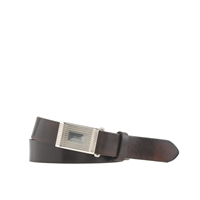 J.Crew Classic Leather Plaque Belt
