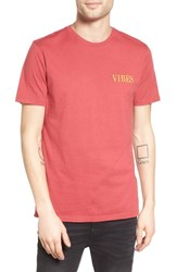Altru Men's Vibes Embroidered T Shirt