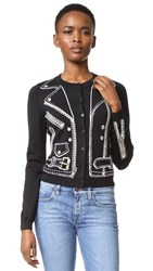Moschino Sweater Cardigan Black