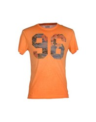 Bomboogie Topwear T Shirts Men Orange